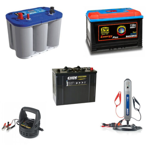 BATTERIES AND CHARGING SYSTEMS